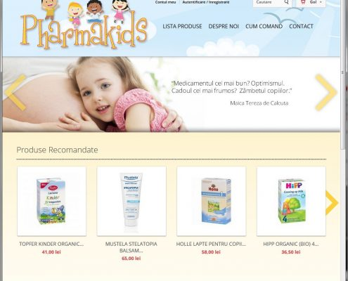 Pharmakids website