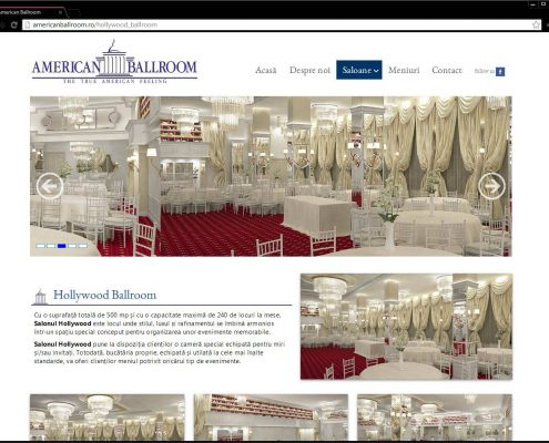 American Ballroom – website