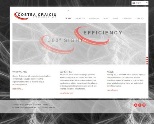 CosteaCraiciu website