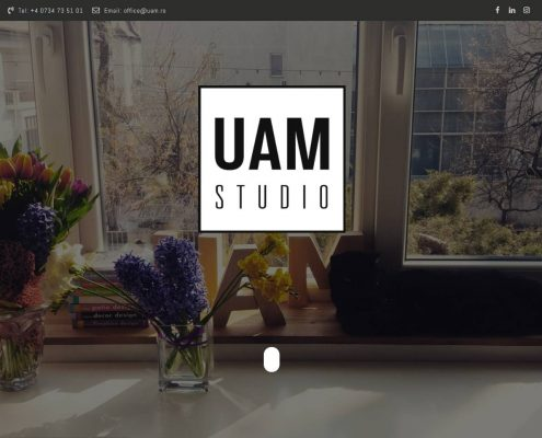 Urban Arhitectural Management website